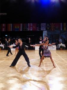 Aus dem ReDance der WDSF PD Latein Foto: (c) Tanztrend